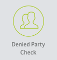Denied Party Check