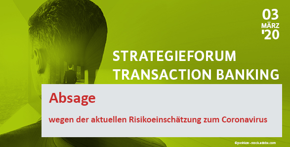 Strategieforum Transaction Banking